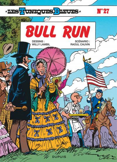 Couverture les tuniques bleues tome 27 - bull run