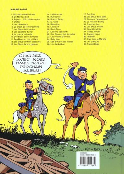 Dos les tuniques bleues tome 27 - bull run