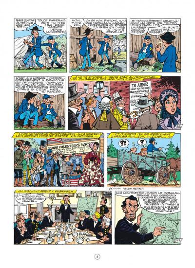 Page 4 les tuniques bleues tome 27 - bull run