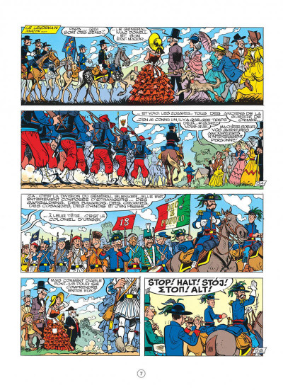 Page 7 les tuniques bleues tome 27 - bull run