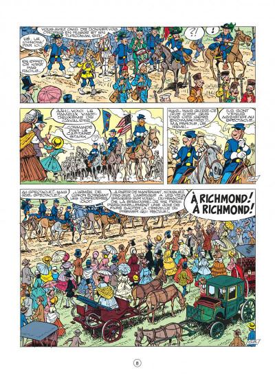 Page 8 les tuniques bleues tome 27 - bull run