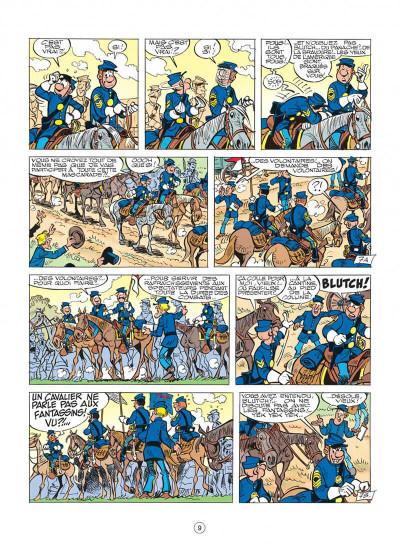 Page 9 les tuniques bleues tome 27 - bull run