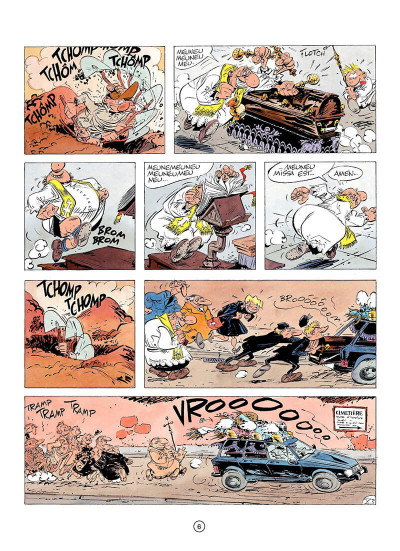Page 5 pierre tombal tome 4 - des os pilants