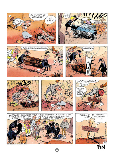 Page 6 pierre tombal tome 4 - des os pilants