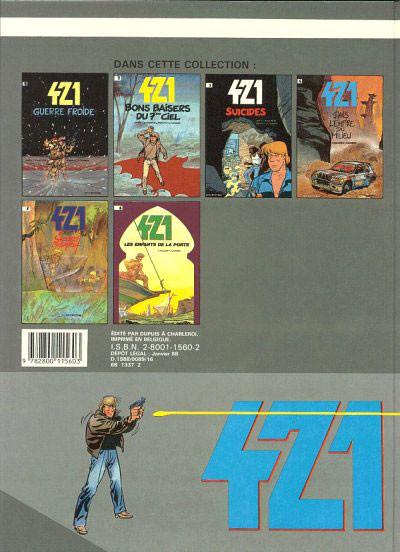 Dos 421 tome 6 - les enfants de la porte