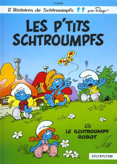 Couverture les schtroumpfs tome 13 - les p'tits schtroumpfs