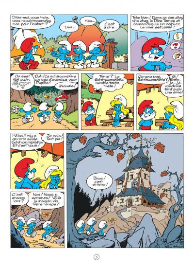 Page 5 les schtroumpfs tome 13 - les p'tits schtroumpfs