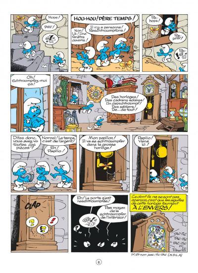 Page 6 les schtroumpfs tome 13 - les p'tits schtroumpfs