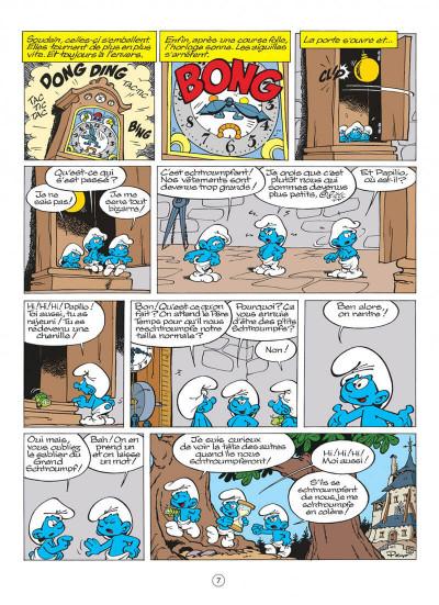 Page 7 les schtroumpfs tome 13 - les p'tits schtroumpfs