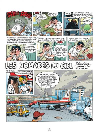 Page 3 natacha tome 13 - les nomades du ciel