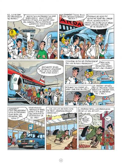 Page 4 natacha tome 13 - les nomades du ciel