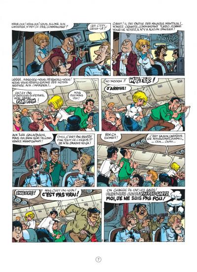 Page 7 natacha tome 13 - les nomades du ciel