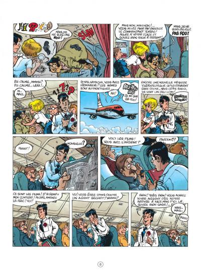 Page 8 natacha tome 13 - les nomades du ciel