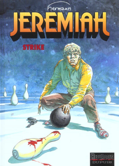 Couverture jeremiah tome 13 - strike