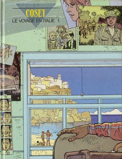 Couverture Le voyage en italie tome 1