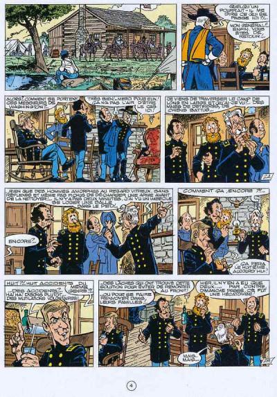 Page 3 les tuniques bleues tome 28 - les bleus de la balle