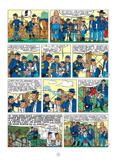 Page 9 les tuniques bleues tome 28 - les bleus de la balle