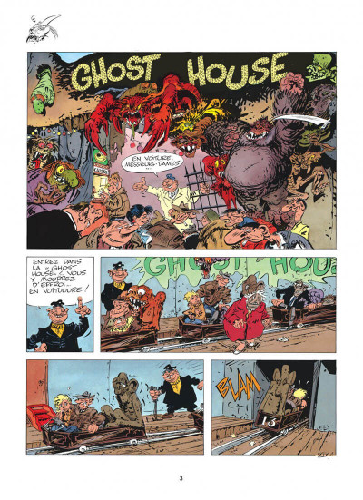 Page 3 pierre tombal tome 5 - o suaires