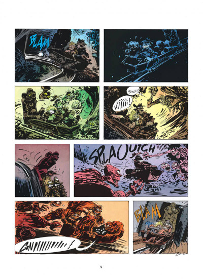 Page 4 pierre tombal tome 5 - o suaires