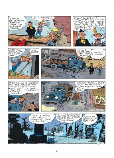 Page 5 pierre tombal tome 5 - o suaires