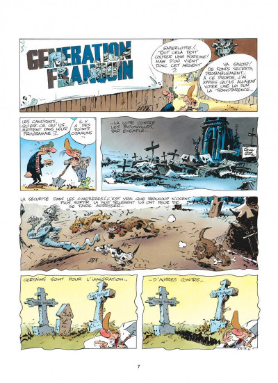 Page 7 pierre tombal tome 5 - o suaires