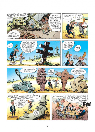 Page 9 pierre tombal tome 5 - o suaires