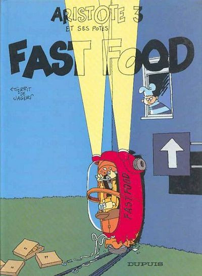 Couverture Aristote et ses potes tome 3 - fast-food