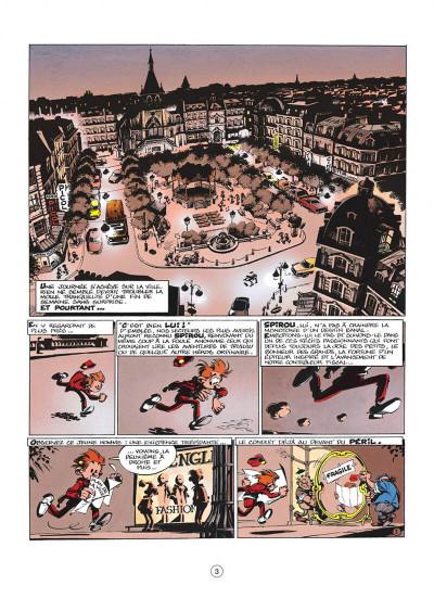 Page 3 spirou et fantasio tome 40 - la frousse aux trousses