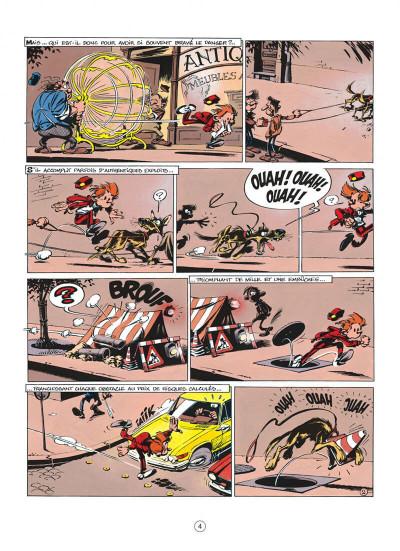 Page 4 spirou et fantasio tome 40 - la frousse aux trousses