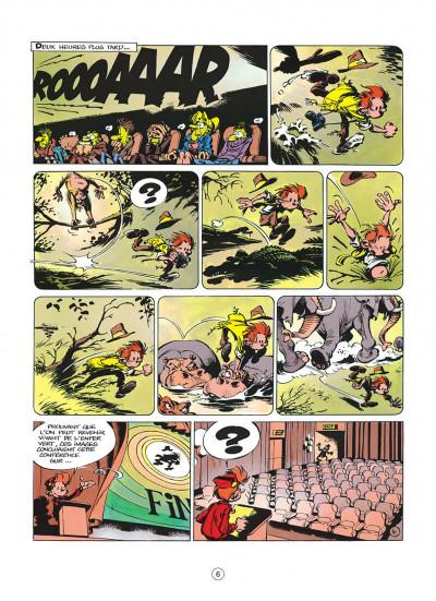 Page 6 spirou et fantasio tome 40 - la frousse aux trousses