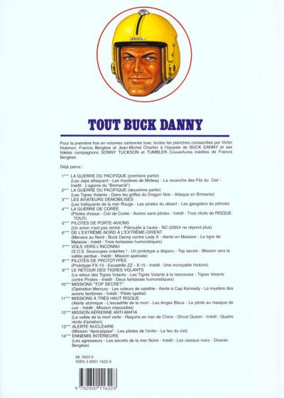 Dos tout buck danny tome 12 - mission aerienne anti mafia