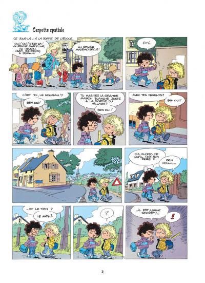Page 3 cédric tome 1 - premières classes