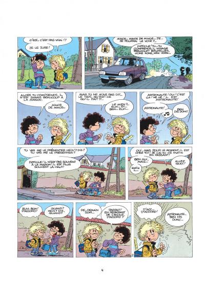 Page 4 cédric tome 1 - premières classes