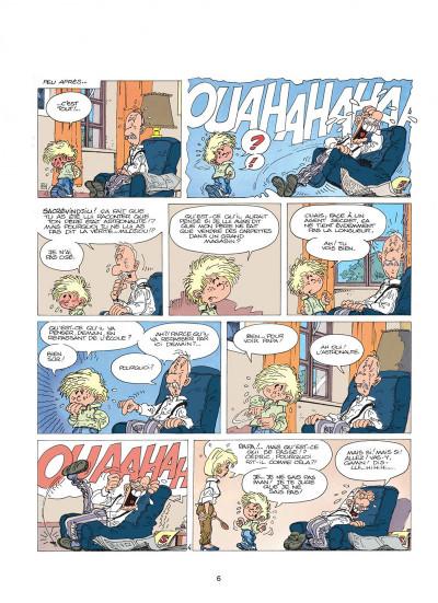 Page 6 cédric tome 1 - premières classes