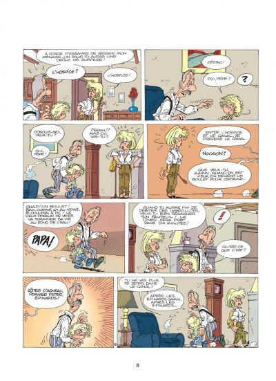 Page 8 cédric tome 1 - premières classes