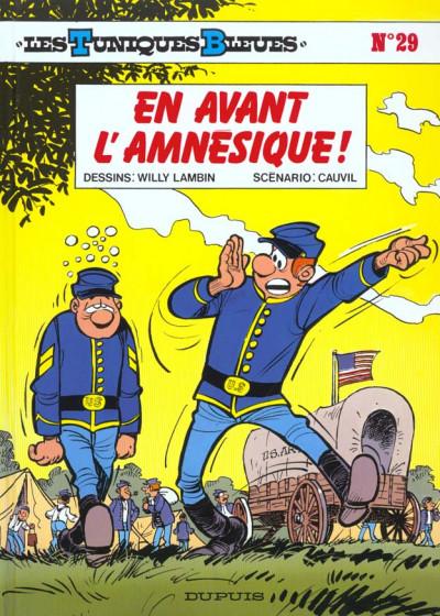 Couverture les tuniques bleues tome 29 - en avant l'amnésique !