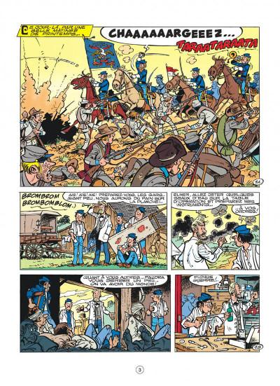 Page 3 les tuniques bleues tome 29 - en avant l'amnésique !