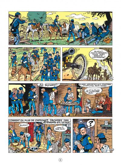 Page 6 les tuniques bleues tome 29 - en avant l'amnésique !