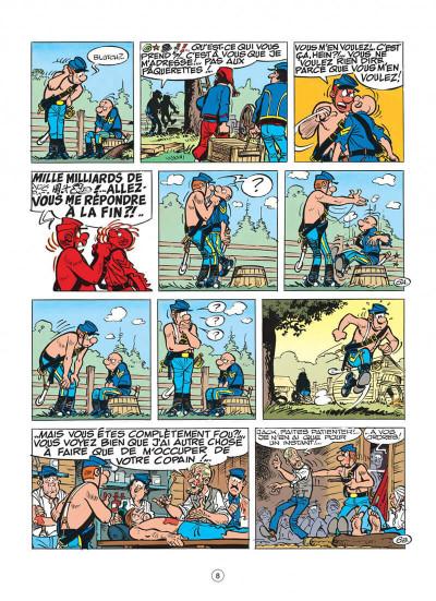 Page 8 les tuniques bleues tome 29 - en avant l'amnésique !