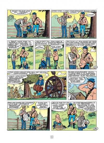 Page 9 les tuniques bleues tome 29 - en avant l'amnésique !