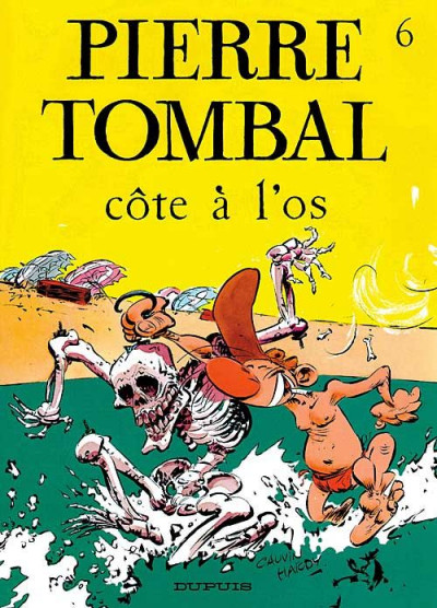 Couverture pierre tombal tome 6 - côte a l'os