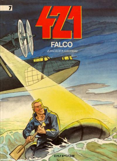 Couverture 421 tome 7 - falco