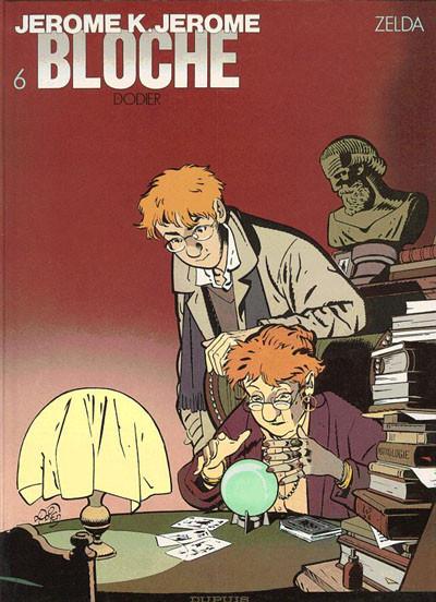 Couverture Jérôme K. Jérôme Bloche tome 6 - zelda