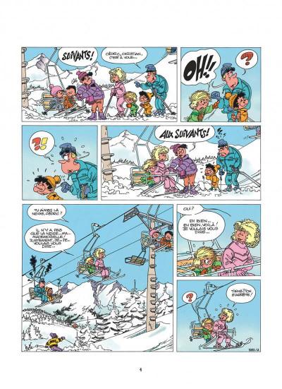 Page 4 cédric tome 2 - classes de neige