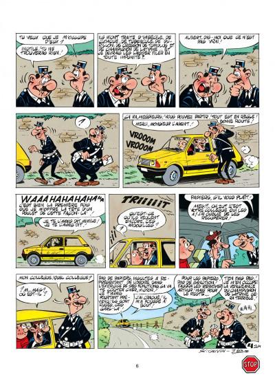 Page 6 l'agent 212 tome 11 - sifflez dans le ballon
