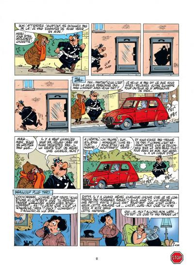Page 8 l'agent 212 tome 11 - sifflez dans le ballon