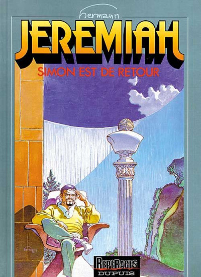 Couverture jeremiah tome 14 - simon est de retour
