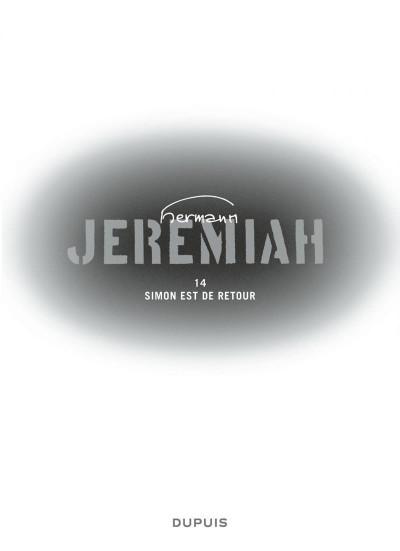 Page 3 jeremiah tome 14 - simon est de retour