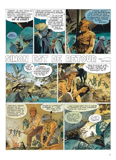 Page 7 jeremiah tome 14 - simon est de retour