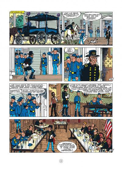 Page 3 les tuniques bleues tome 30 - la rose de bantry